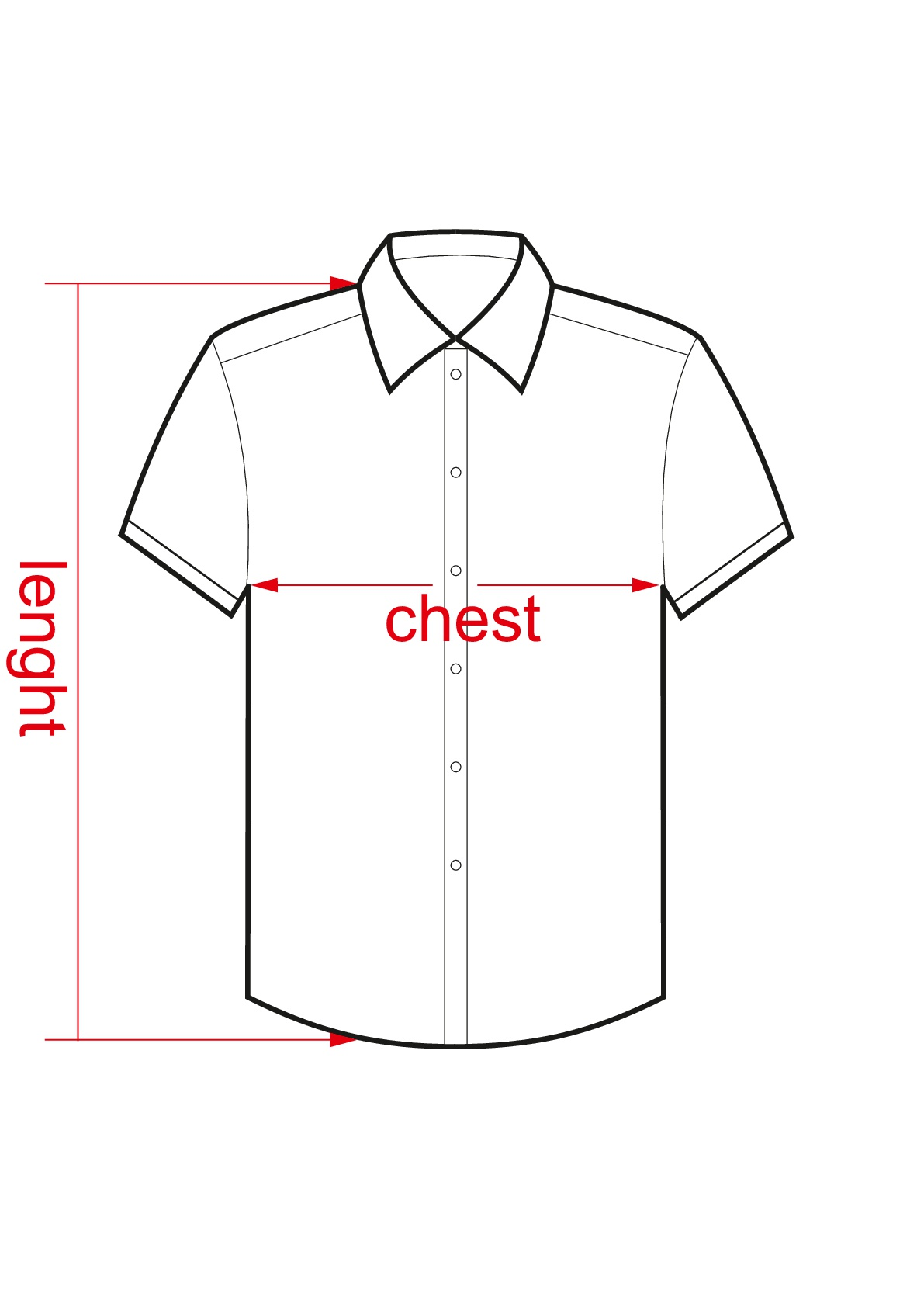 Short sleeve shirt male-001